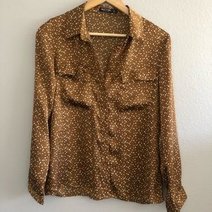 Nasty Gal   Silky button up blouse   4